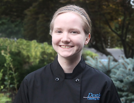 Molloy Ferguson, Culinary Manager, Destinys Catering Inc.